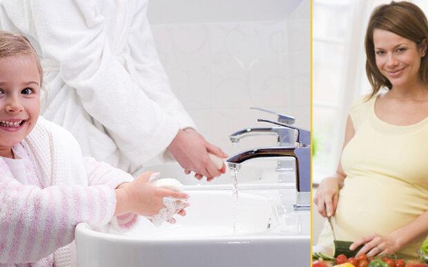 Gesunde Hygiene für Mutter und Baby