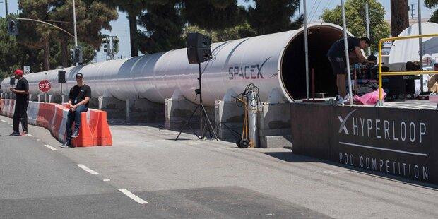 Hyperloop-Bewerb: Münchner siegen erneut
