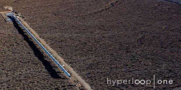 Hier wird die erste Hyperloop gebaut