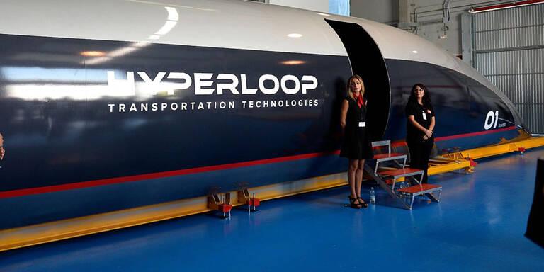 Erste Hyperloop-Strecke ist fertig