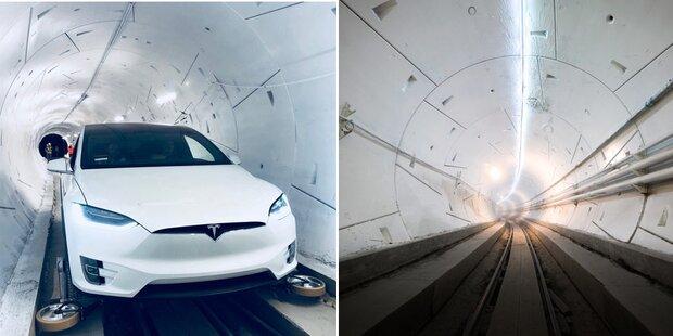 Erste Hyperloop-Strecke ist in Betrieb