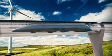 Hyperloop soll Menschen mit über 1.000 km/h befördern
