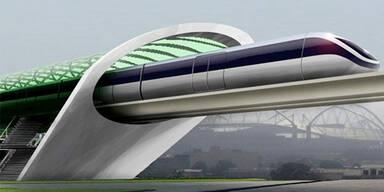 Hyperloop meisterte ersten Praxistest