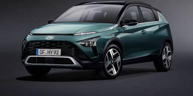 Hyundai greift mit neuem Mini-SUV Bayon an