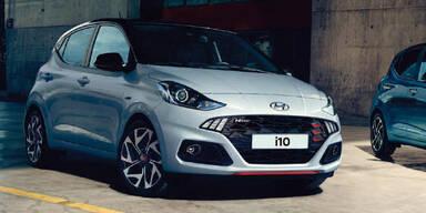 Hyundai schickt den i10 N-Line an den Start