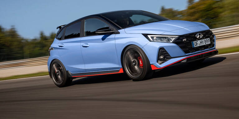 Neuer Hyundai i20 N ist eine echte Rennsemmel