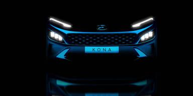 Hyundai verpasst dem Kona ein Facelift