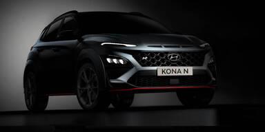 Kona N: Hyundai zeigt sein potentes Mini-SUV