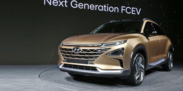 Hyundai bringt neues Wasserstoffauto
