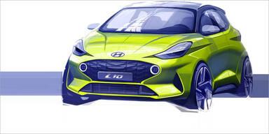 Hyundai zeigt den völlig neuen i10