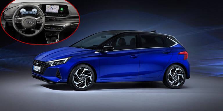 Neuer Hyundai i20 hat High-Tech-Cockpit