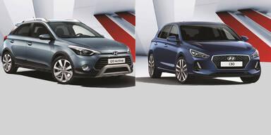 Neuer Hyundai i30 und i20 Active zum Kampfpreis