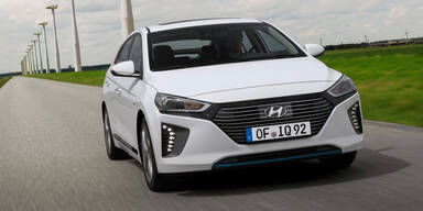 Hyundai Ioniq Hybrid im Test
