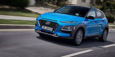 Hyundai Kona startet als Vollhybrid