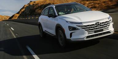 Das ist Hyundais neues Wasserstoffauto