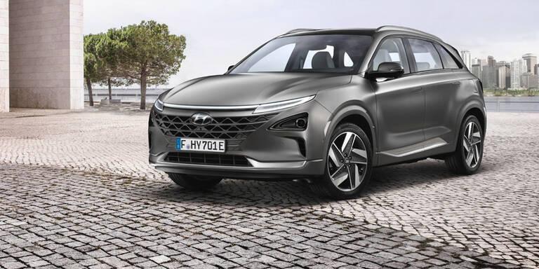So viel kostet Hyundais Wasserstoffauto