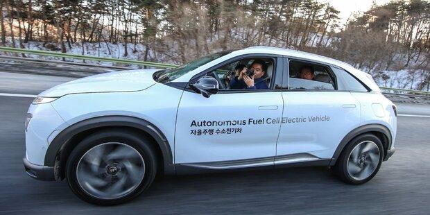 Neuer Nexo war 190 km autonom unterwegs