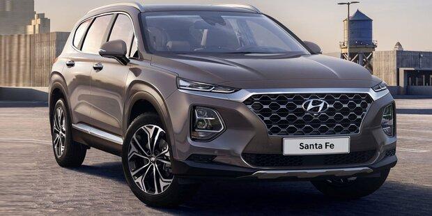 Das ist der völlig neue Hyundai Santa Fe