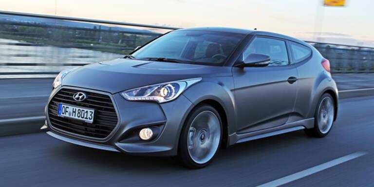 Jetzt kommt der Hyundai Veloster Turbo