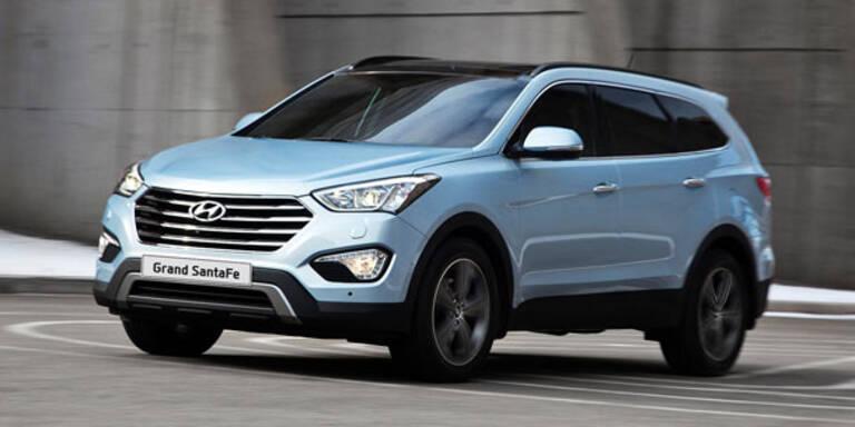 Hyundai bringt den Grand Santa Fe