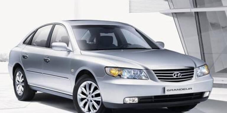 Hyundais edle Oberklasselimo Grandeur V6