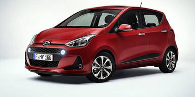 Hyundai verpasst dem i10 ein Facelift