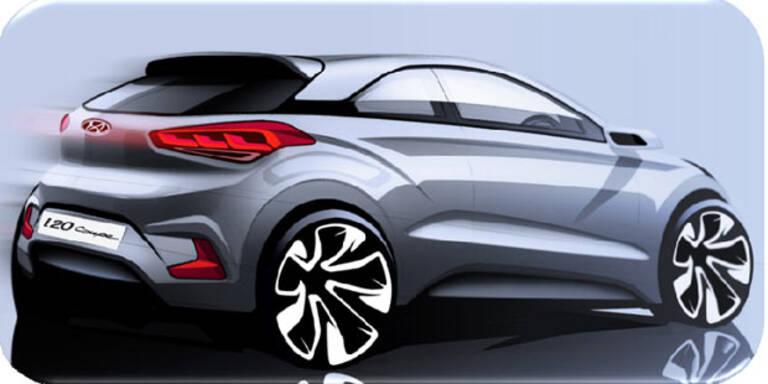 Hyundai bringt das i20 Coupé