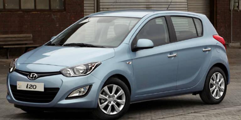 Hyundai überarbeitet den i20