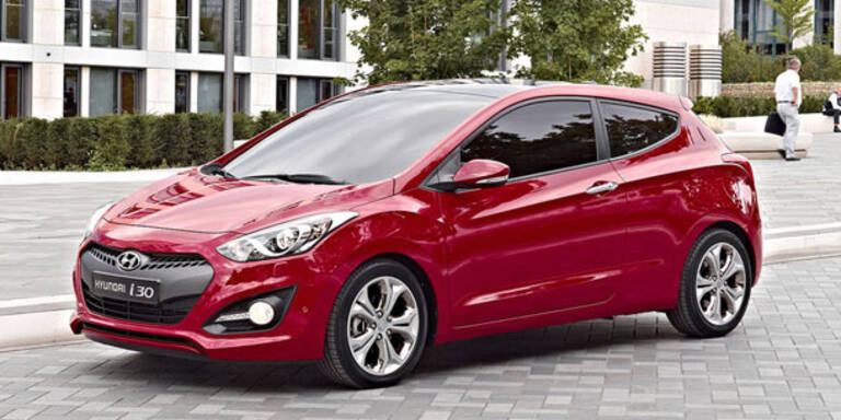 So sieht der dreitürige Hyundai i30 aus
