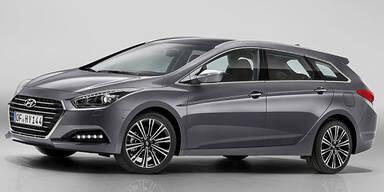 Hyundai frischt den i40 auf