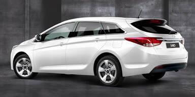 Hyundai i40 Kombi kommt auch als Go