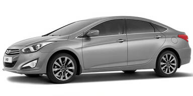 Hyundai i40 Limousine: Neue Infos und Fotos