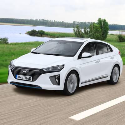 Hyundai Ioniq Hybrid- und Elektro-Version