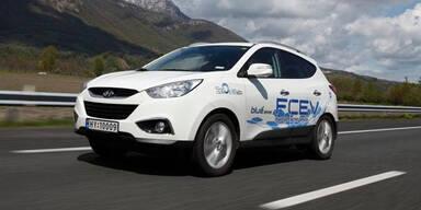 Hyundais Wasserstoff ix35 vor Serienreife