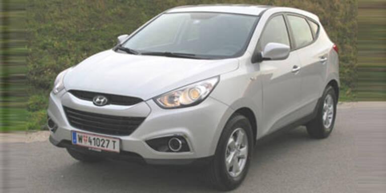 Neuer Einstiegsdiesel für den Hyundai ix35