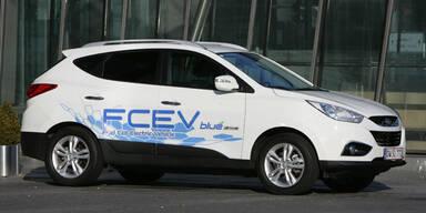 Hyundai setzt auf Wasserstoff-Autos
