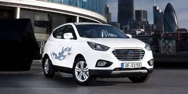 Wasserstoff-Hyundai startet in Österreich
