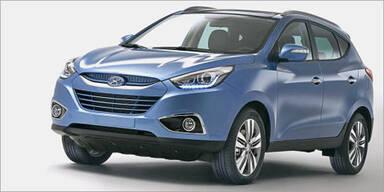 Hyundai verpasst dem ix35 ein Facelift