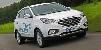 Hyundai zeigt fertigen Wasserstoff-ix35