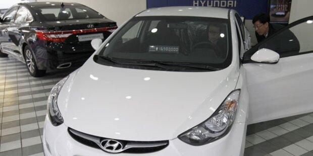 Hyundai eilt von Erfolg zu Erfolg