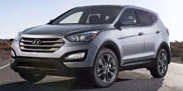 Hyundai zeigt den neuen Santa Fe