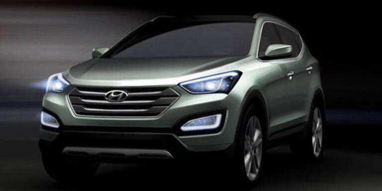Hyundai stellt den neuen Santa Fe vor