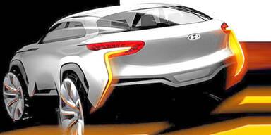 Hyundai-Studie mit Brennstoffzelle