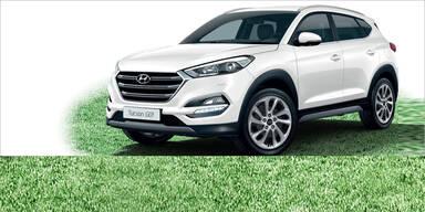 Hyundai Tucson, i30, i20 und i10 günstiger