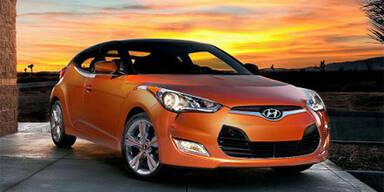 Hyundai Veloster greift den VW Scirocco an