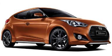 Hyundai frischt den Veloster auf
