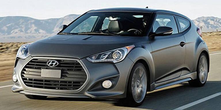 Erste Fotos vom Hyundai Veloster Turbo