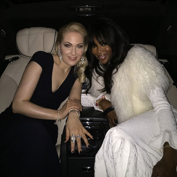 Naomi Campbell & Kathrin Glock