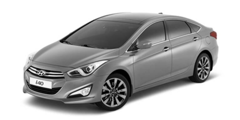 Hyundai i40 Limousine feiert Weltpremiere