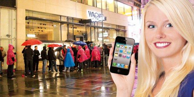 iPhone S4 erobert den Markt